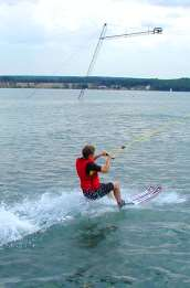 Freizeit Urlaub und Abenteuer Erlebnisse Wasserski