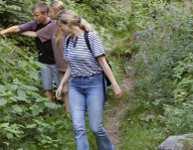 Bayern Aktivurlaub Familien Kinder Wandern