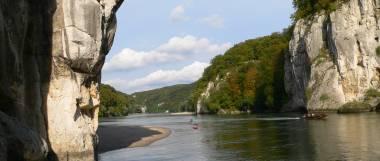 Sehenswürdigkeiten im Altmühltal - Donaudurchbruch bei Weltenburg