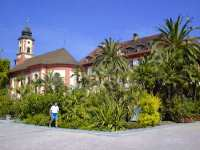Ausflugstipps Allgäu Insel Mainau Kirche