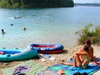 Urlaub am Wasser Badesee im Bayerischen Wald