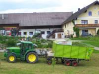 Urlaub Bauernhof Halbpension Hofansicht