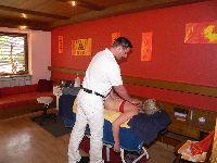 Massage beim Urlaub auf dem Bauernhof im Bäderdreieck