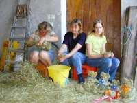Erlebnis Bauernhof Heubären Basteln mit Kindern