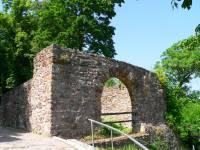 Familienurlaub und Wanderurlaub Oberpfalz Burgruine Donaustauf