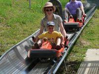 Bayerischer Wald Sommerrodeln Familie