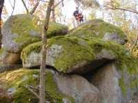 Freizeitmöglichkeiten Bayern Kletttern im Bayerwald