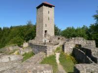 Freizeitmöglichkeiten Bayerwald Burgruine Altnussberg