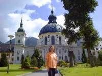 Sehenswürdigkeiten Oberbayern Deutsche Alpenstrasse Kloster Ettal