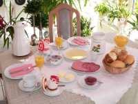 Kurzurlaub über Ostern Osterfrühstück