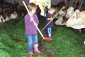 Bayerischer Wald Ferienbauernhof mit Ponys Kinderurlaub Oberpfalz Ponyreiten