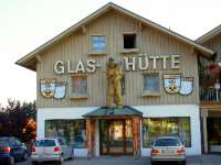 Wahrzeichen Bayerwald Glashütte Glasmuseum