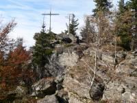 Wandern im Bayerischen Wald Gipfel Kaitersberg