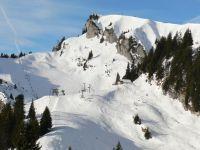 Winterferien Bayern Berge im Schnee